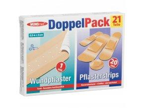 3324 WUNDmed Doppelpack Wundpflasterstreifen Pflasterstrips