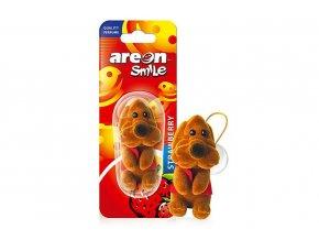 areon smile toy strawberry hnedy pes