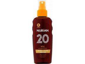 nubian olej na opalovanie of 20