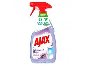 ajax windows shine plyn do czyszczenia szyb 500 ml