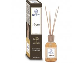 breeze argan diffusore di fragarnza con bastoncini sandalo e vaniglia 100 ml