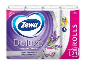 Zewa Deluxe Aquatube Levander Dreams toaletný papier 24ks