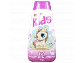 25315 metoo magic unicorn 2v1 sprchovy gel sampon na vlasy 500ml
