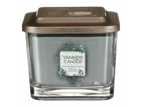 yankee candle 1629038e vetiver black cypress medium elevation candle 02