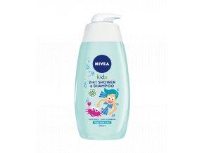 Nivea Kids 2in1 Magic Aplle sprchový gél a šampón pre deti 500ml