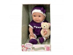 Gigo 15in Nostalgia Baby Dolls in Purple