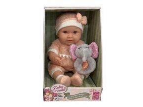 Gigo 15in Nostalgia Baby Dolls in Coral large