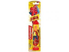 Zubná kefka COLGATE Kids Spiderman Batériová