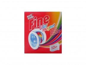 Well Done Fine color magnet obrúsky pohlcujúce farbu 12ks