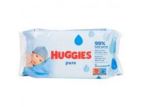 Huggies Pure vlhčené utierky 56ks
