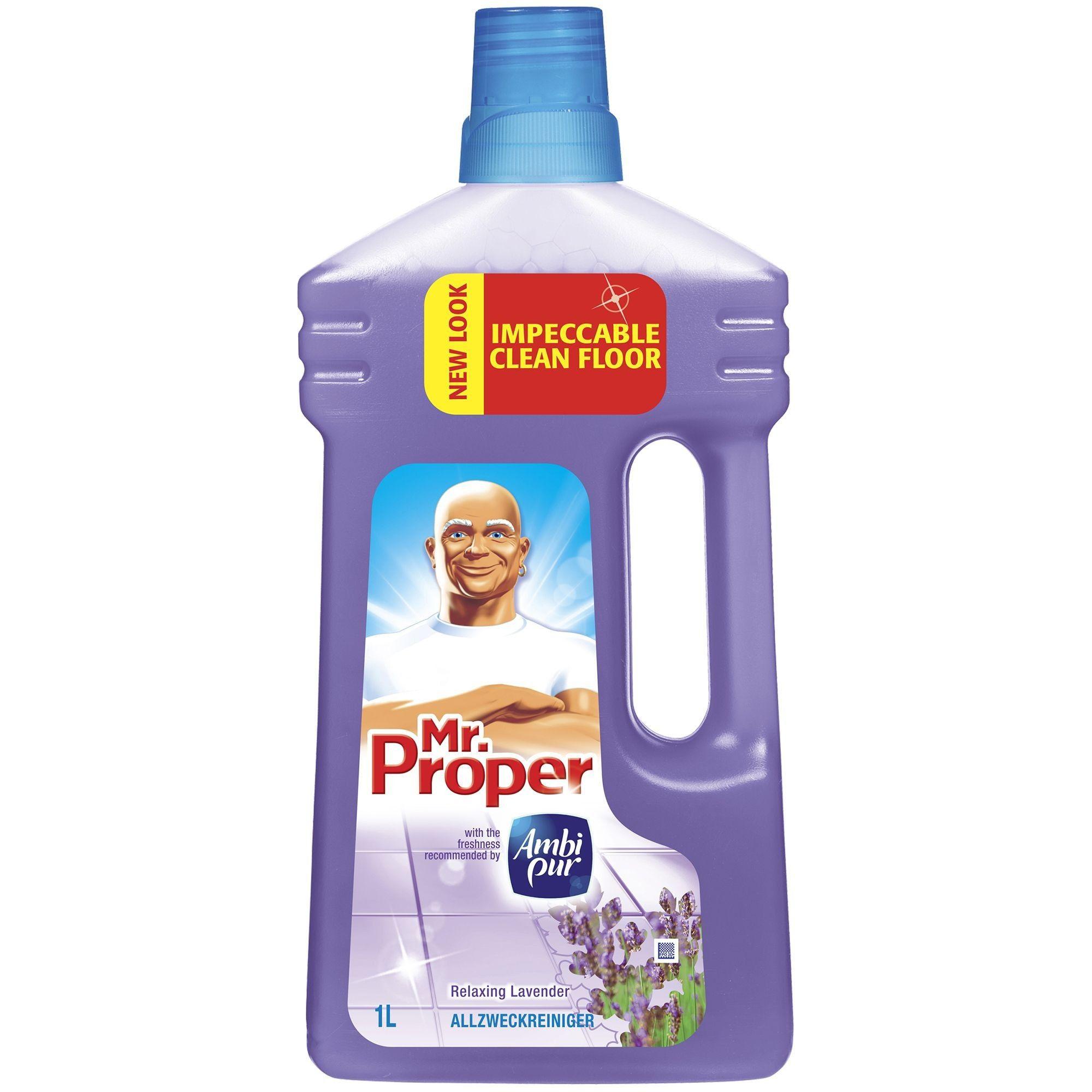 Mr. Proper Levander čistiaci prostriedok na podlahy 1l