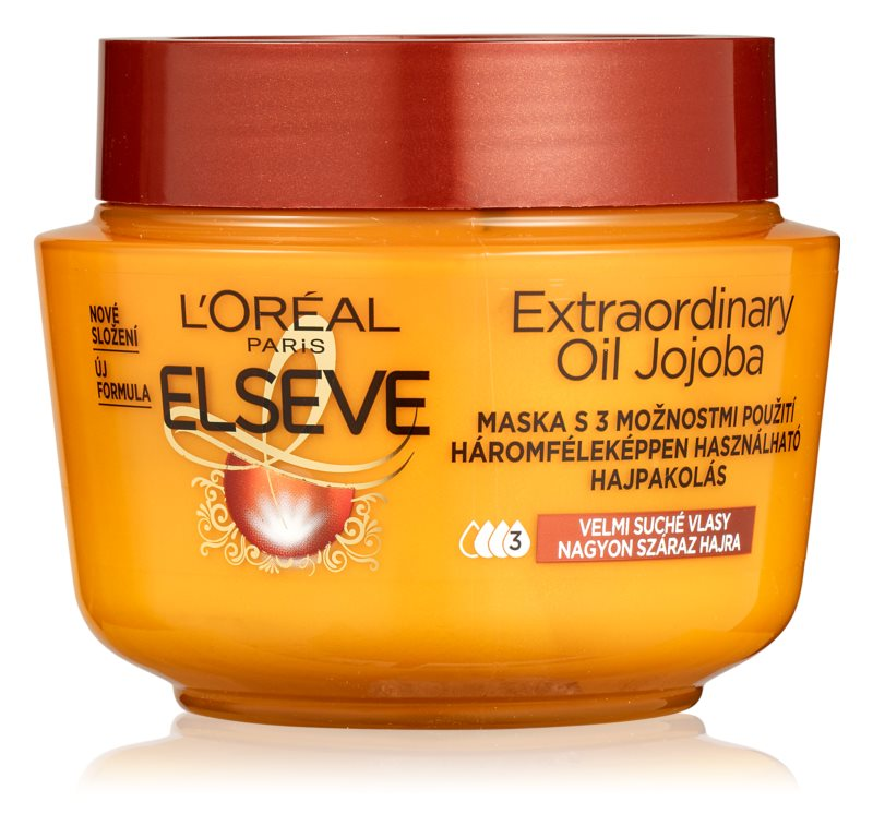 L'Oréal L'Oréal Paris Elseve Extraordinary Jojoba Oil maska na vlasy 300ml