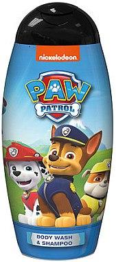 BI-ES Paw Patrol modrá pena do kúpeľa a šampón 2v1 250ml