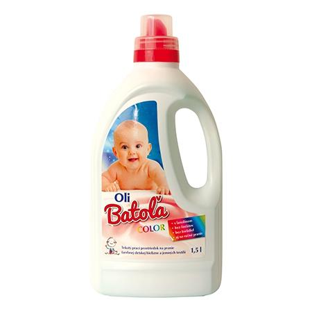Oli Baťola Oli Batoľa Color gél na pranie 1,5l