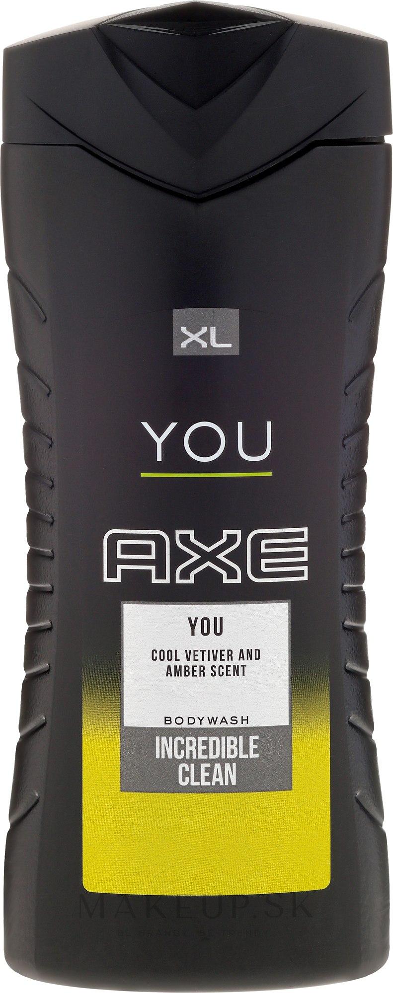 AXE YOU Bodywash sprchový gél 400ml