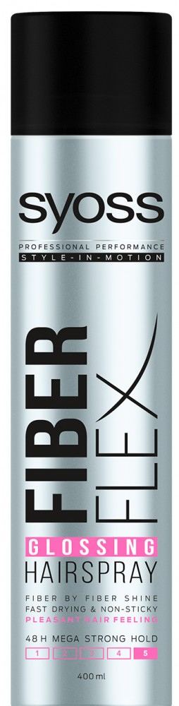 Syoss FiberFlex lak na vlasy 300ml