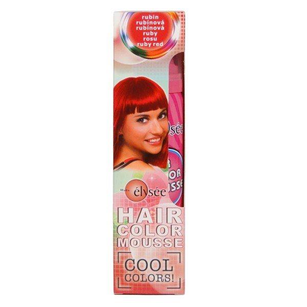 Wats Elysée Color Mousse farebné penové tužidlo, farba rubín 75 ml