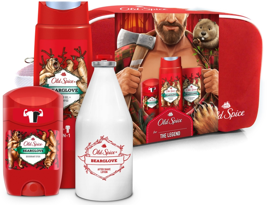 Old Spice Bearglove taška darčekový set