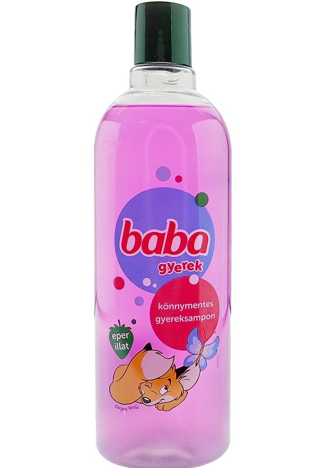 BABA detský šampón na vlasy 400ml