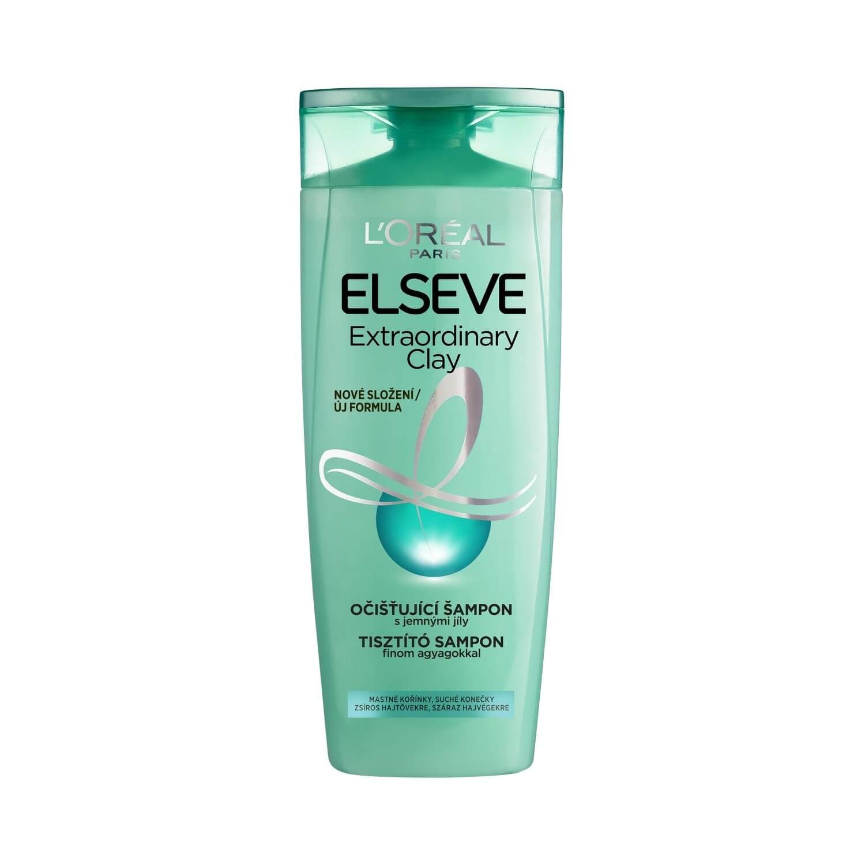 L'Oréal L'ORÉAL Elséve Extraordinary Clay očistujúci šampón na vlasy 400ml