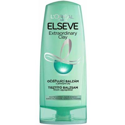 L'Oréal L'ORÉAL Elséve Extraordinary Clay očistujúci balzam na vlasy 400ml