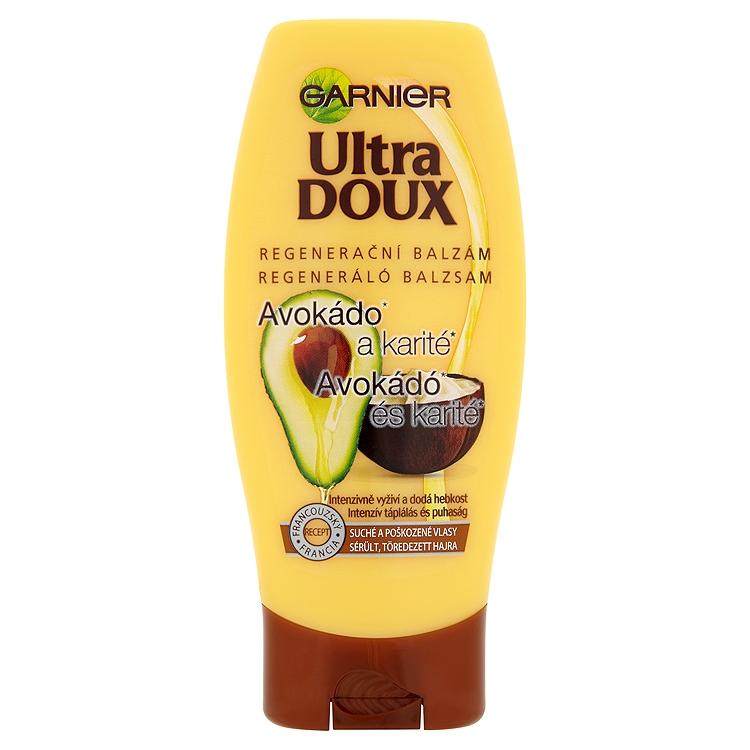 Garnier Ultra Dolce Avokádo & kakaové maslo balzam na vlasy 250ml