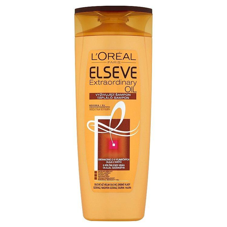 L'Oréal L'ORÉAL Elséve Extraordinary Oil intenzívne vyživujúci šampón na vlasy 400 ml