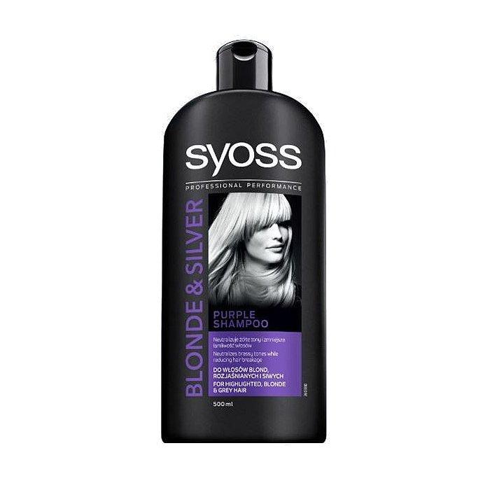 Syoss šampón Blonde & Silver pre zosvetlené, blond a sivé vlasy 500ml
