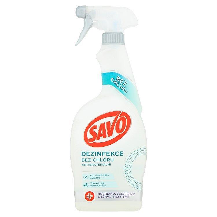 Savo Antibakteriálny sprej Dezinfekcia bez chlóru 700 ml