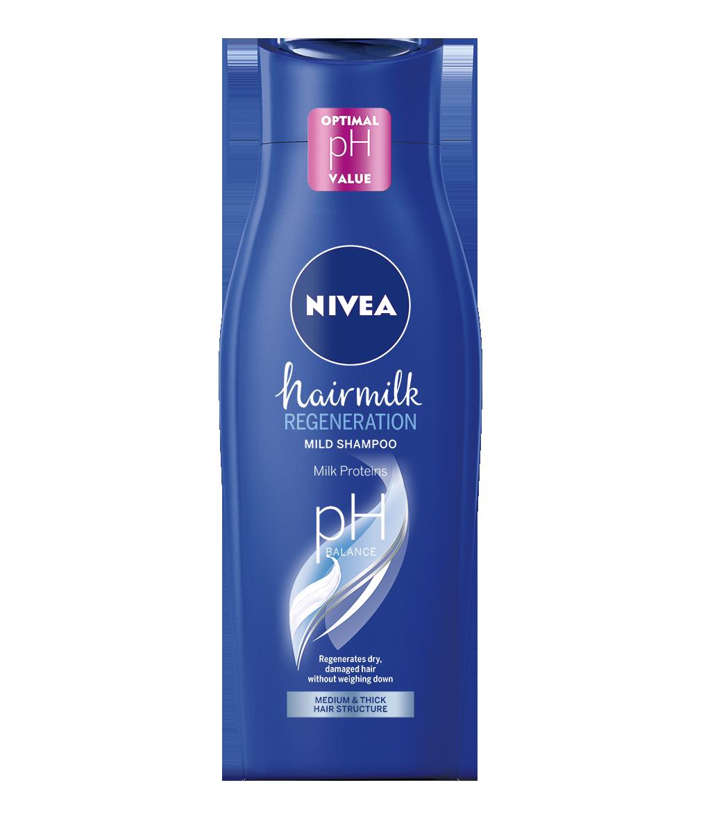 Nivea Hairmilk Regeneration šampón na vlasy 400ml