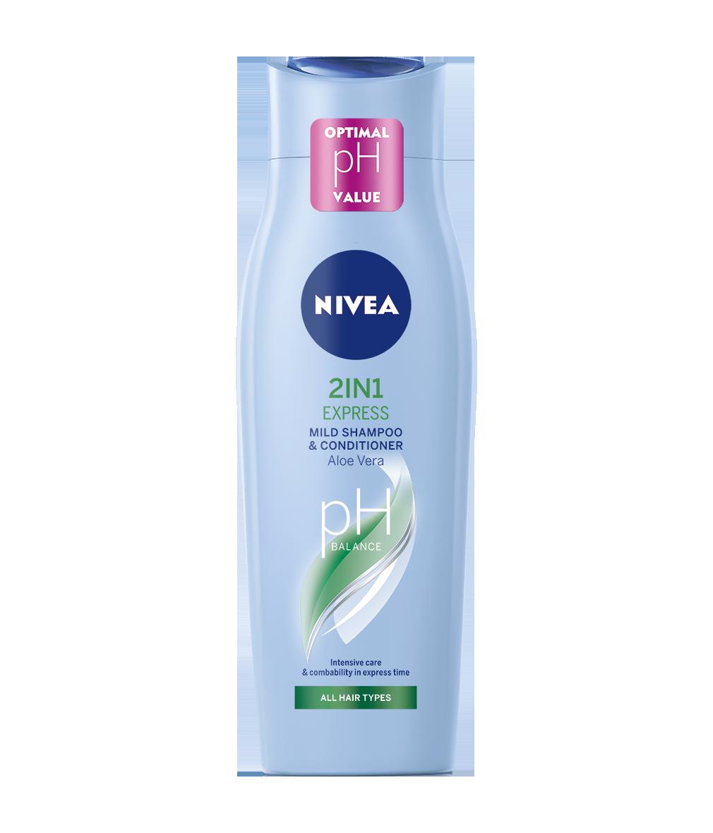 Nivea 2v1 Express šampón na vlasy 400ml