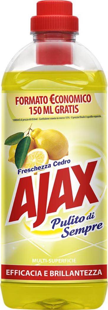 Ajax Lemon čistiaci prostriedok na podlahy 1l