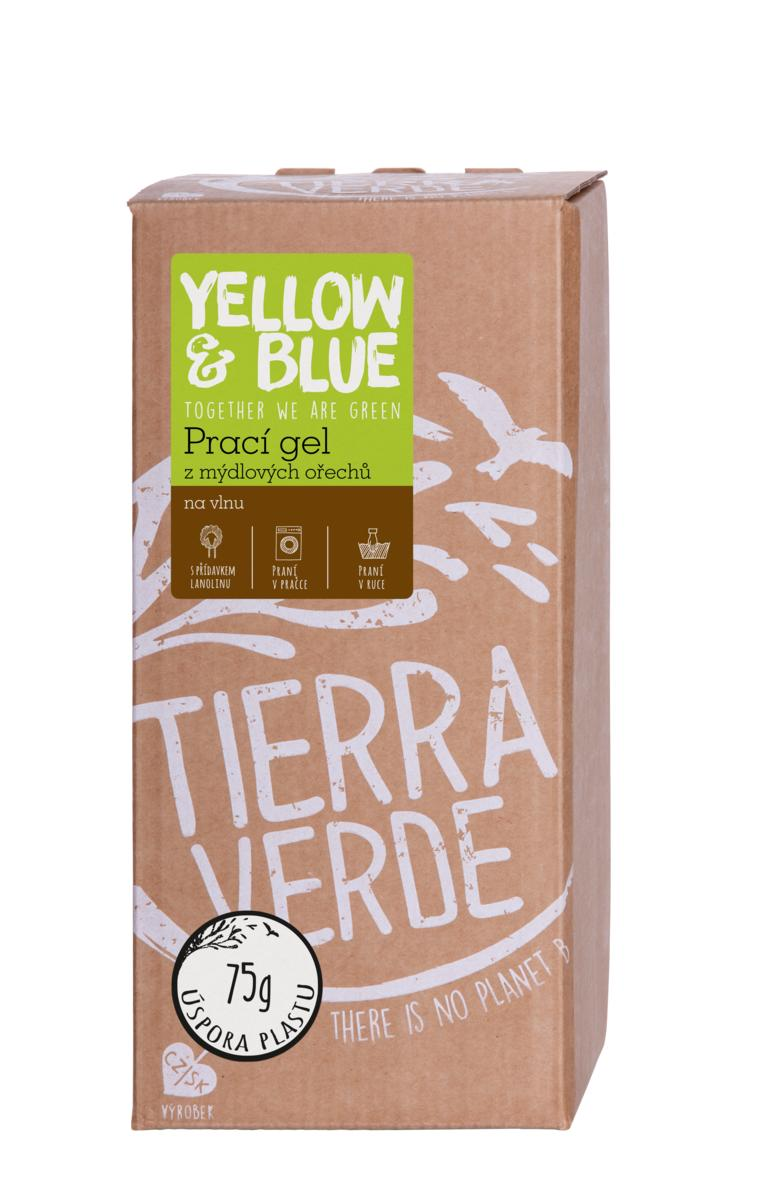 Yellow&Blue Prací gél z mydlových orechov na vlnu a funkčný textil z merino vlny bag-in-a-box 2l
