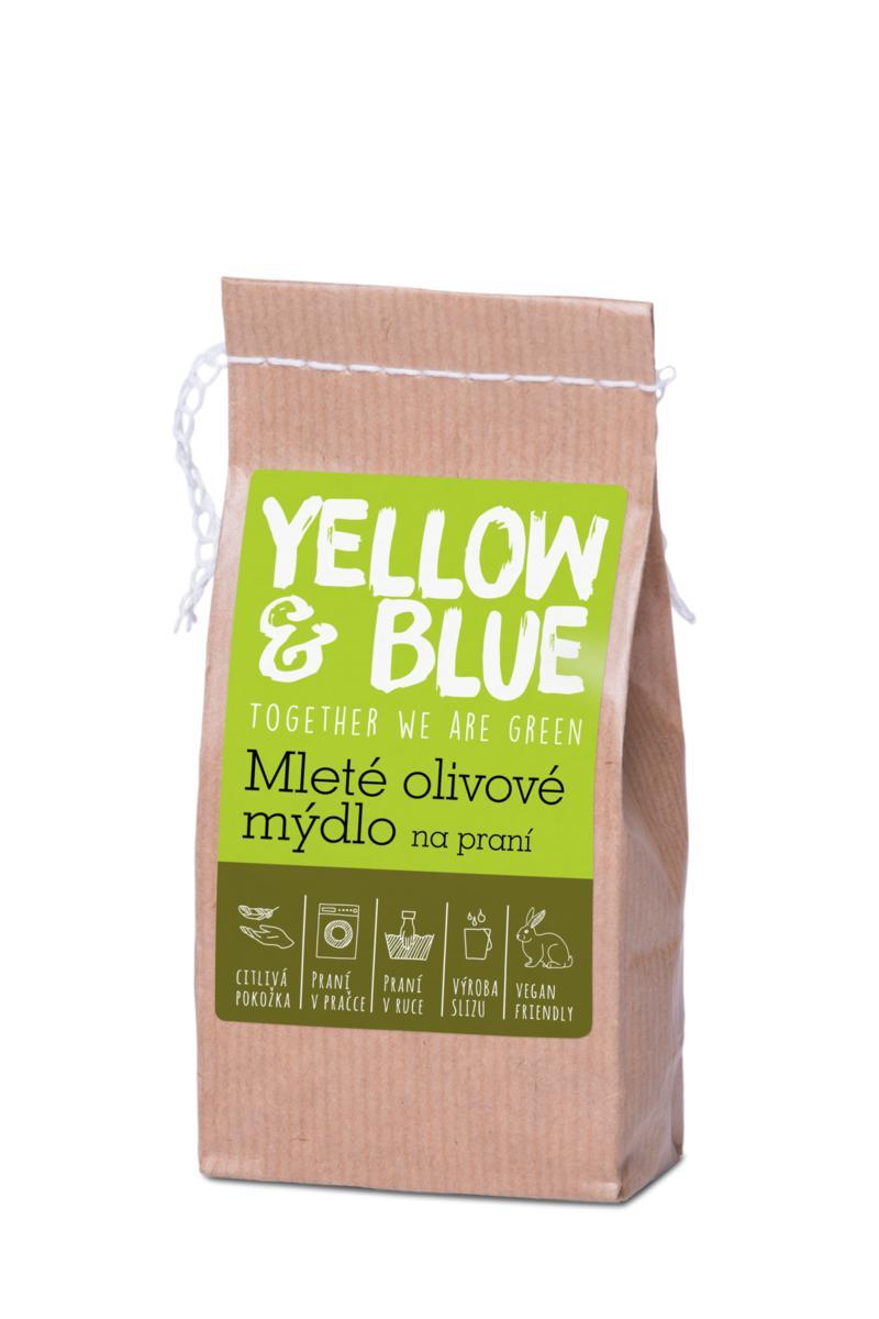 Yellow&Blue Mleté olivové mydlo na pranie 200g