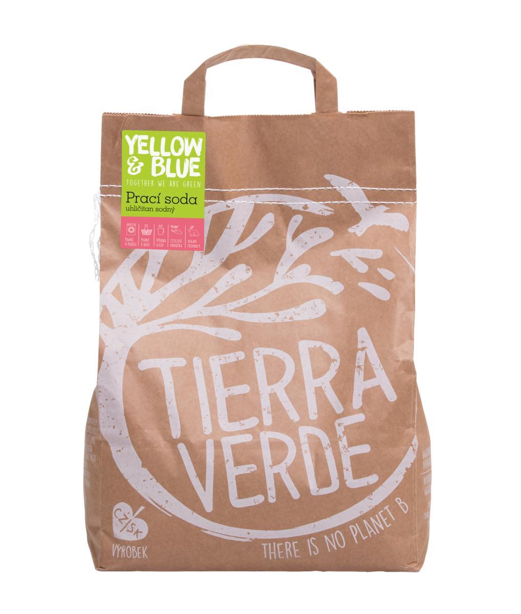 Yellow&Blue Pracia sóda - ťažká sóda, uhličitan sodný 5kg