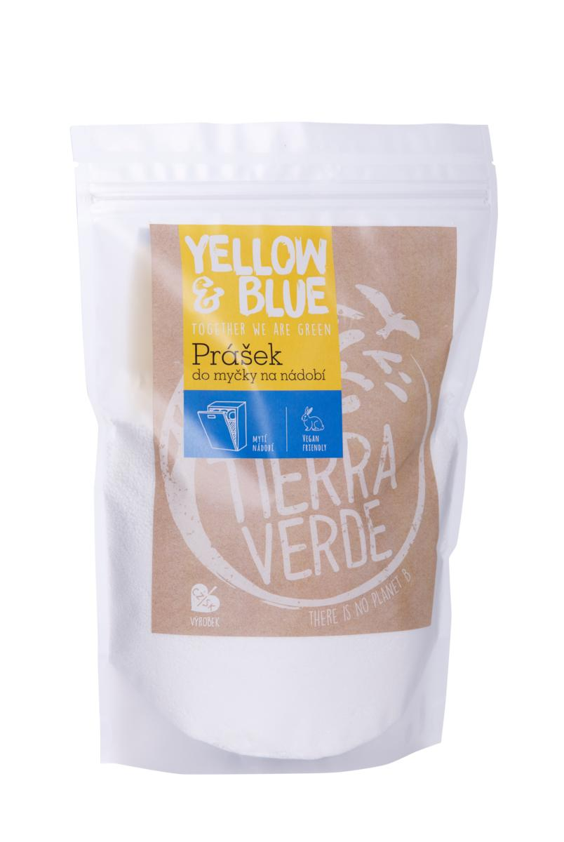 Yellow&Blue Prášok do umývačky riadu 250g