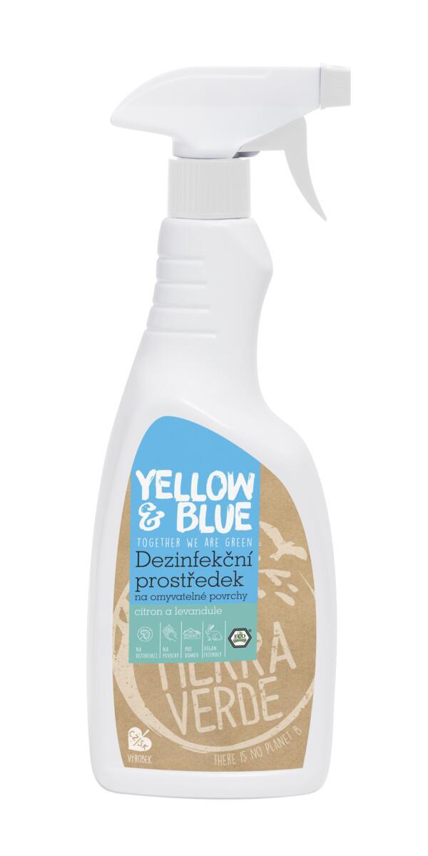 Yellow&Blue Dezinfekčný prostriedok 750ml