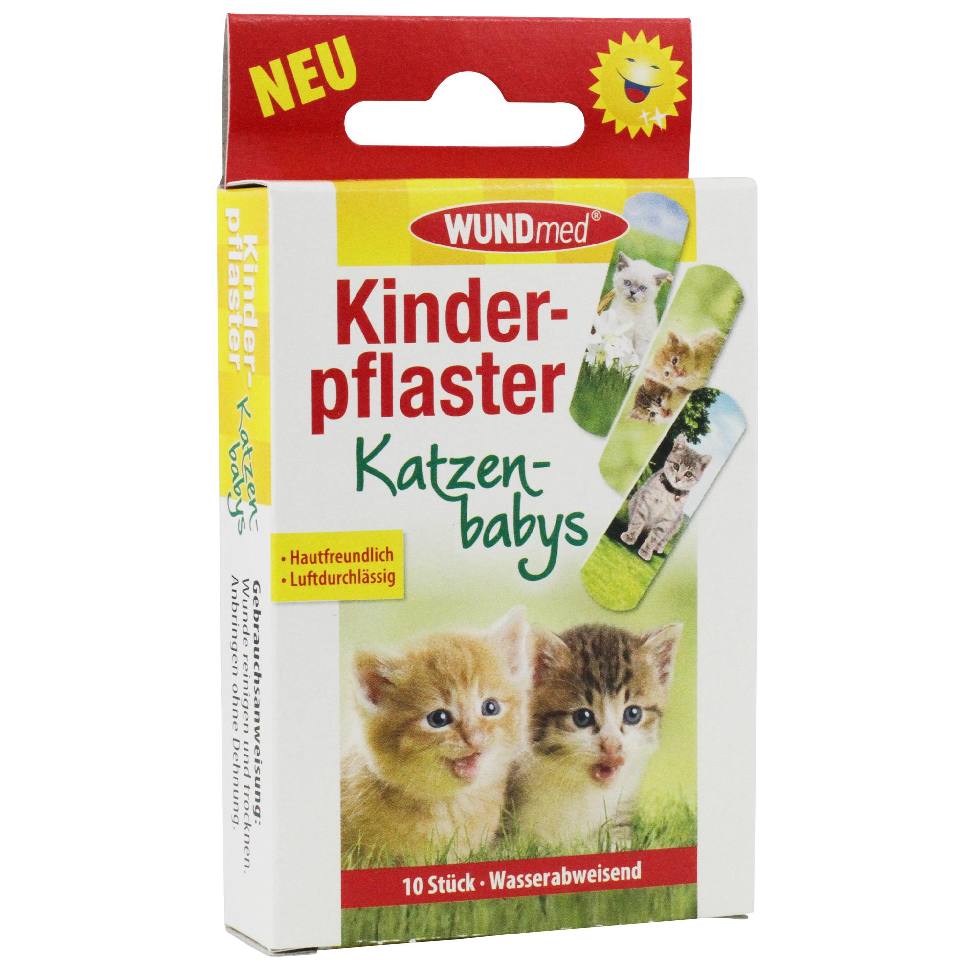 WUNDmed Kids Baby Cats náplasť vodeodolná 10ks