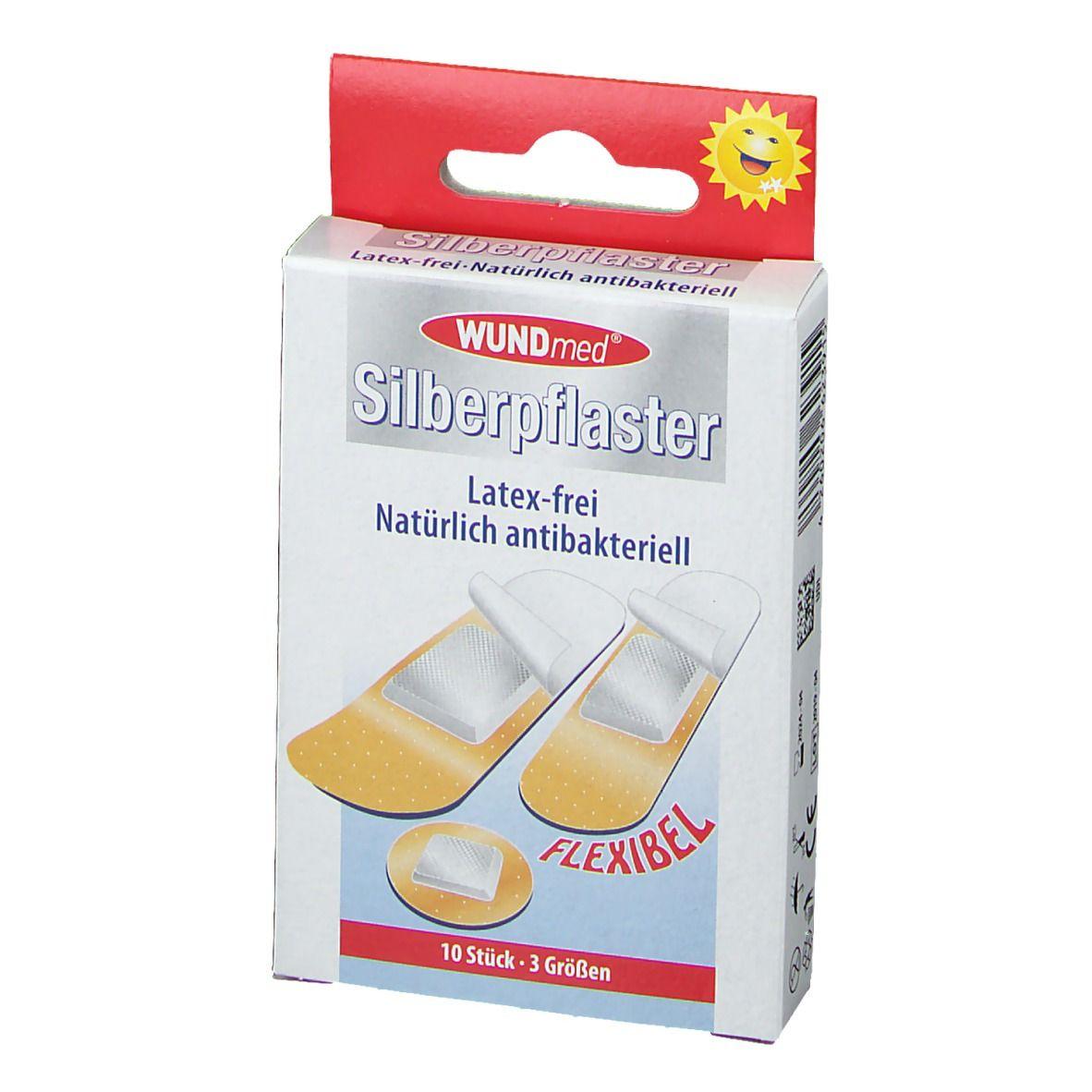 WUNDmed SilverPlast náplasť vodeodolná 10ks