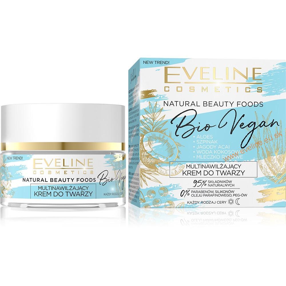 Eveline Cosmetics EVELINE Bio Vegan multi-hydratačný pleťový krém 50ml