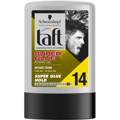 Taft Super Glue gél na vlasy 300 ml