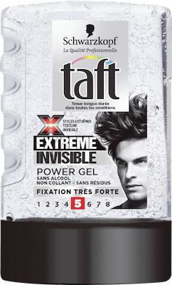 Taft Extreme Invisible gél na vlasy 300 ml