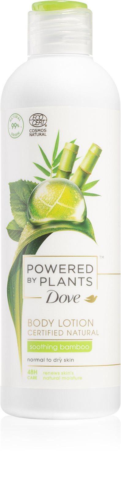 Dove Powered by Plants Bamboo upokojujúce telové mlieko 250ml