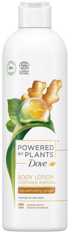 Dove Powered by Plants Ginger omladzujúce telové mlieko 250ml