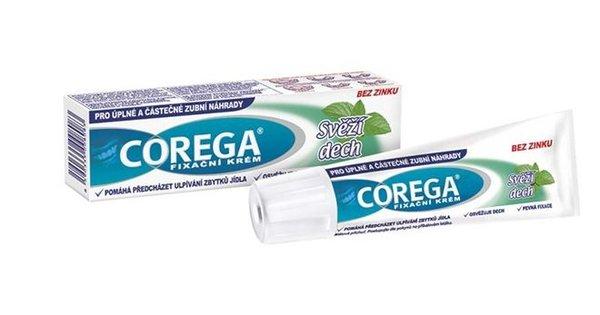 Corega Original fixačný krém extra silný svieži dych 40 ml