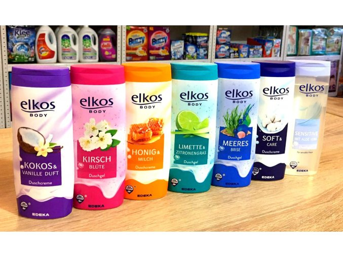 elkos body new sprchovy gel 300ml