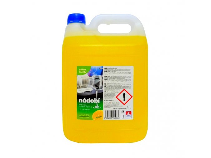 lavon lemon extrahusty nadobi 5l ostry