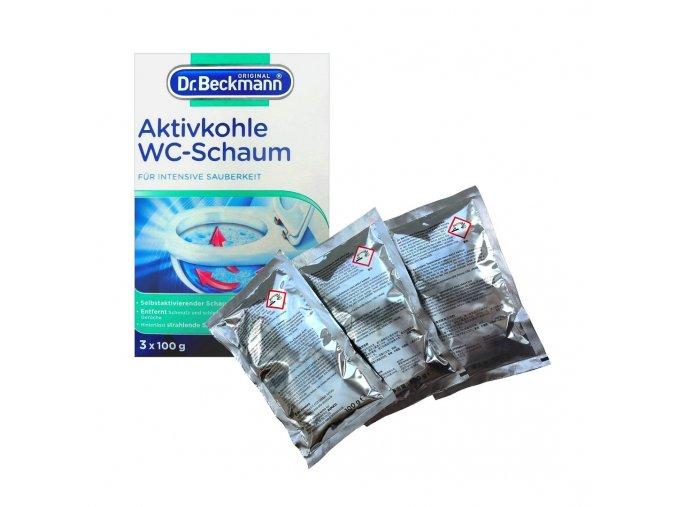 dr beckmann wc pena aktivni uhli 3x100g 1