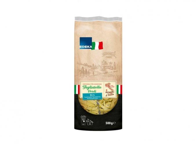 edeka italia tagliatelle verdi spenatove testoviny 500g