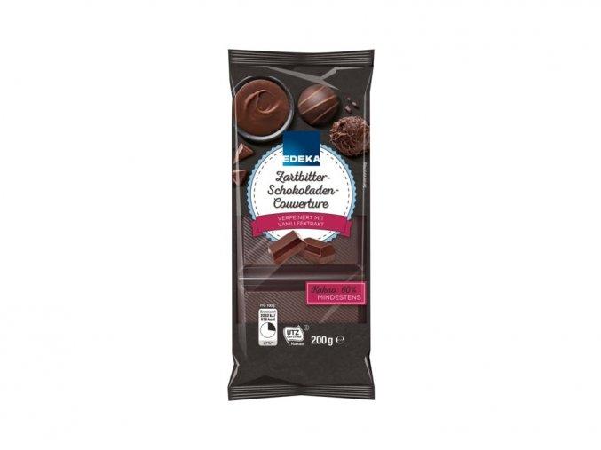 edeka jemne horka cokolada na vareni s 55 kakaa 200g
